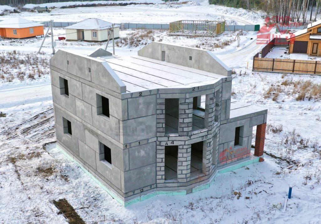 Домокомплекты из бетона бетонные смеси мелкозернистого бетона бсм